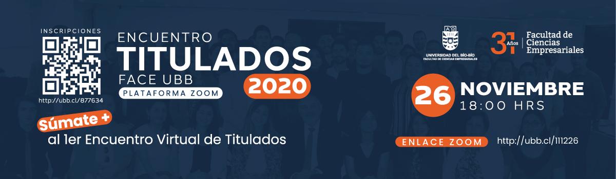 Encuentro de Titulados FACE 2020